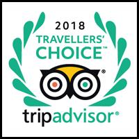 Travellers' Choice Award for Jesmond Dene House by Trip Advisor